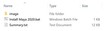 Image showing the deployment folder