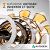 Autodesk Inventor LT Suite, 3 year subscription, advanced support