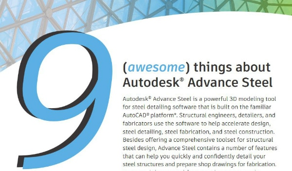 9 Awesome Things About Advance Steel | Autodesk
