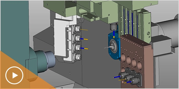 Video: production machining image
