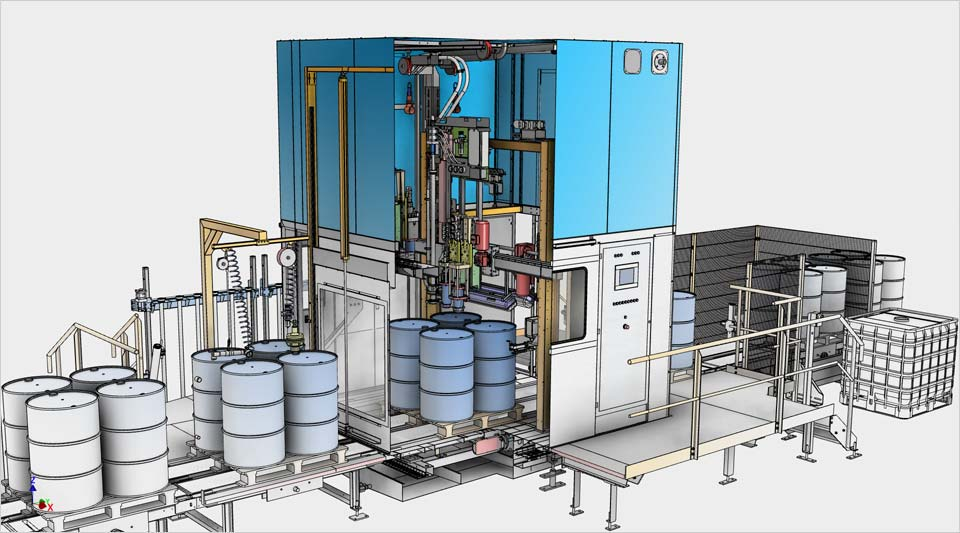 Automate the 3D modeling process