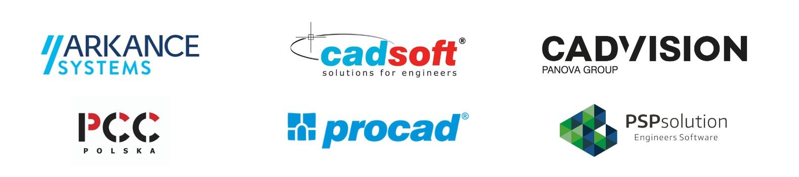 Partnerzy Autodesk wspierający konferencję