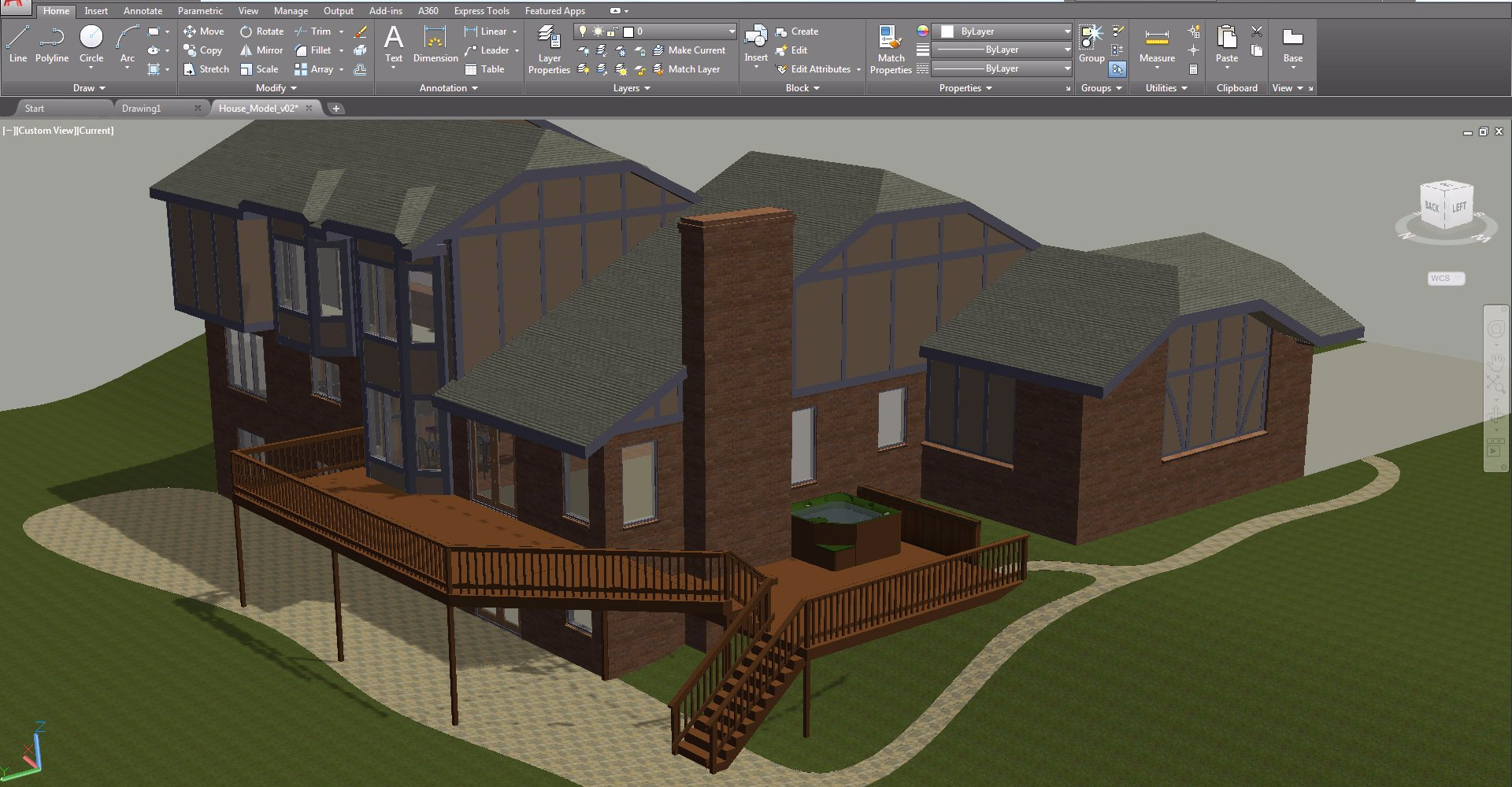 2d drafting and drawing tools 2d cad software autodesk - Design a building online free ...