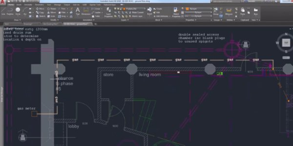 AutoCAD 2D and 3D CAD program
