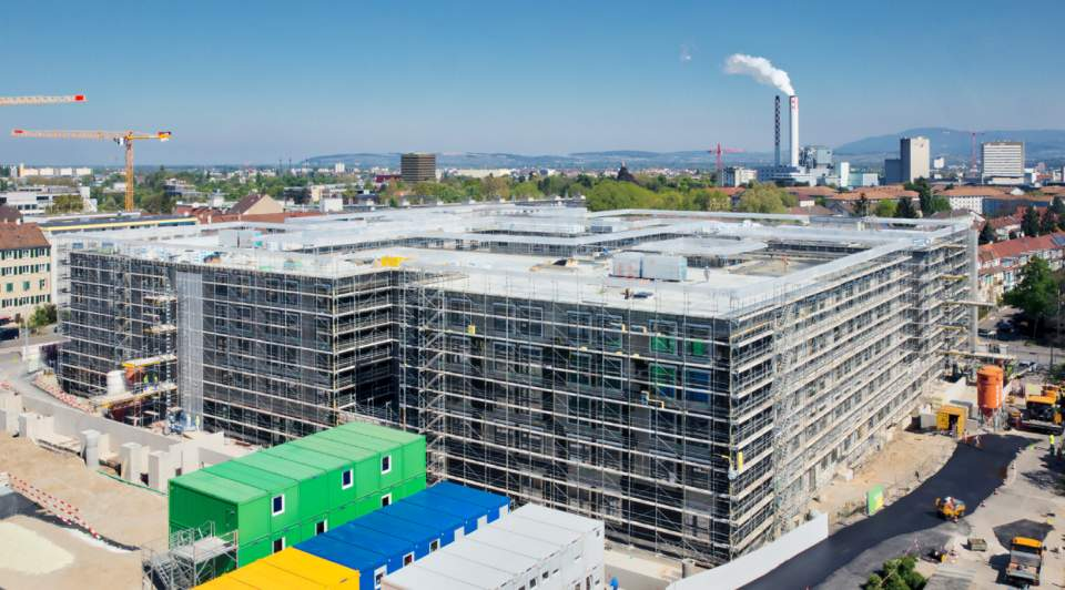 Neubau Felix-Platter-Spital Außenansicht © BAM Swiss AG