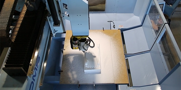 4 axis machining