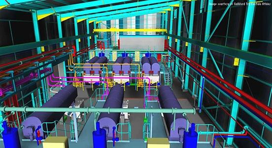 AutoCAD Plant 3D sendo utilizado para expandir instalações de tratamento de esgoto de Liverpool