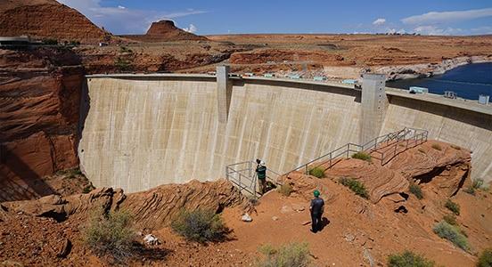 Ferramentas de captura de realidade e modelagem 3D sendo utilizadas para gerenciar e proteger a barragem de Glen Canyon