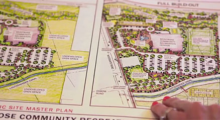 Montrose civic center landscape design site plan