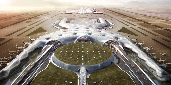 For Mexico City's New International Airport, Foster + Partners and FR-EE had one core goal in mind: Put people first.