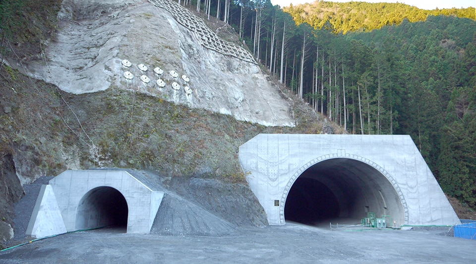 The Mikusa Tunnel was a great experience for CIM implementation. Image credits to the Obayashi Corporation