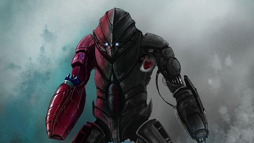 Armored cyborg