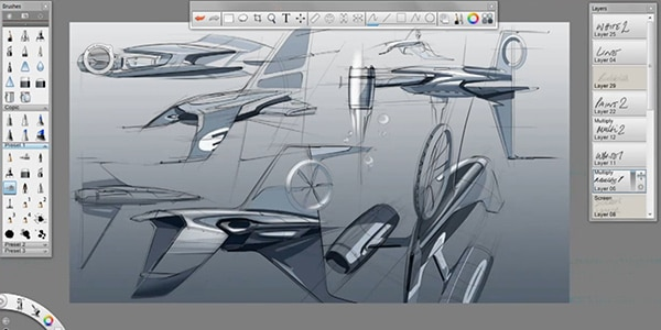 Design cars with Autodesk Sketchbook and Alias