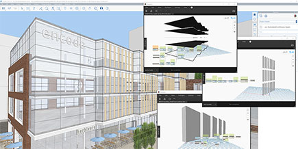 rendering of building in Formit
