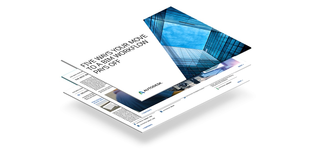 Five ways your move to a BIM workflow pays off ebook