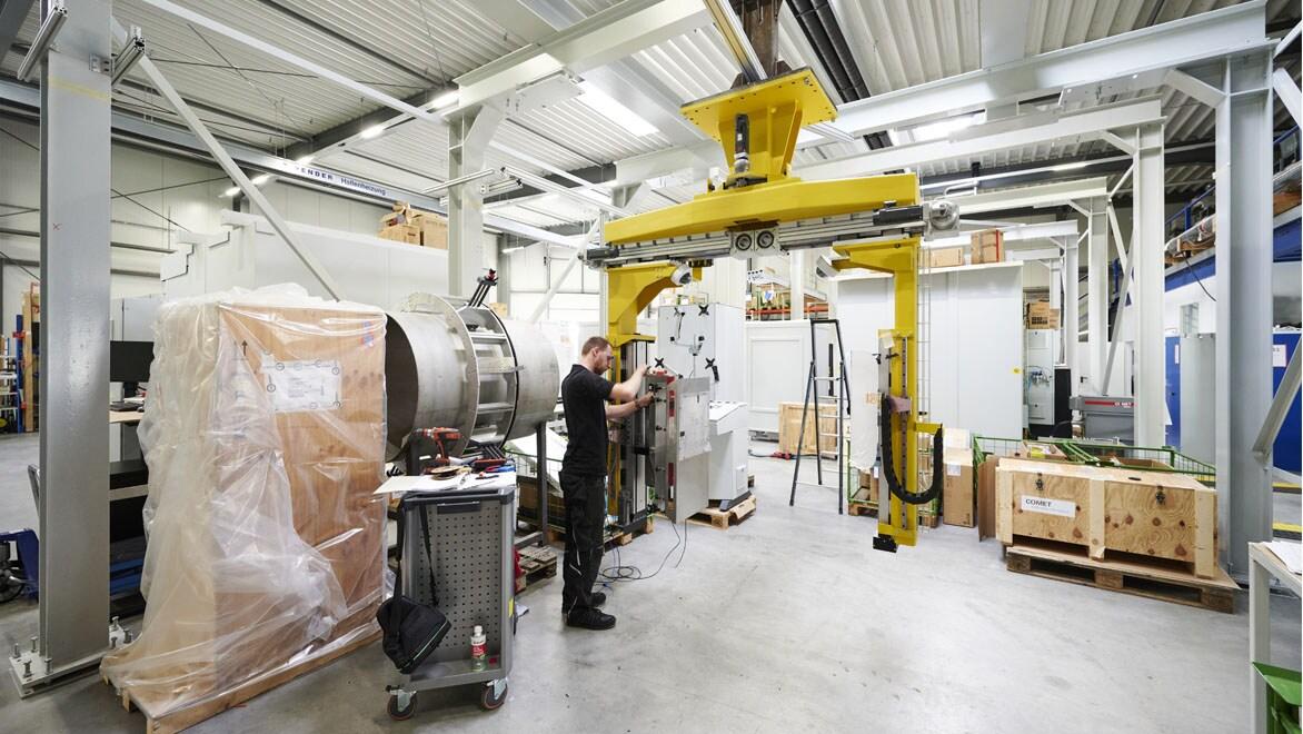 VisiConsult — мировой лидер в области промышленного рентгеновского оборудования. Изображение предоставлено: VisiConsult   Chris Mueller, eyeamchris.com