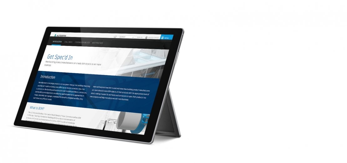 Deliver BIM objects to drive growth interactive guide