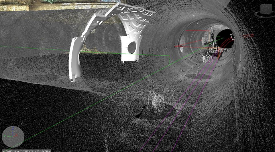 image of crossrail tunnel