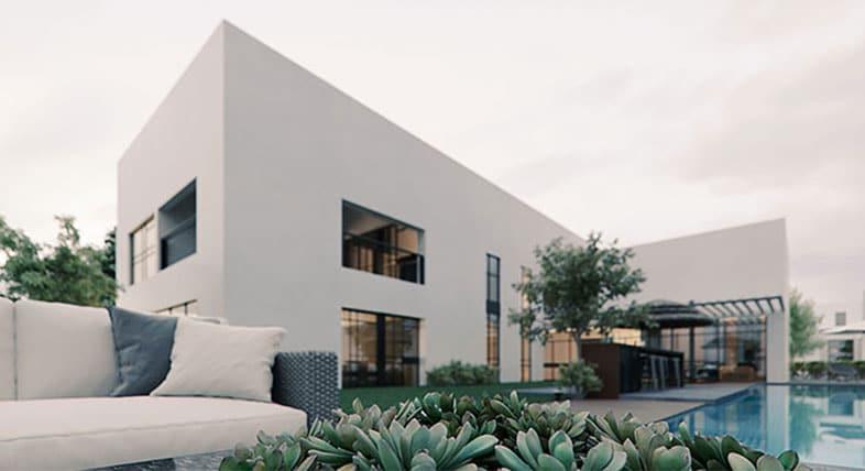 Rendu intérieur 3D de Savion Residence