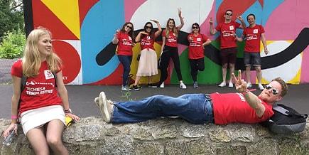 Dublin team fundraising