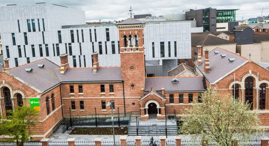 The Cork Courthouse BAM renovated and extended