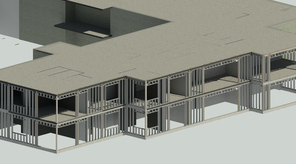 image of project in Revit