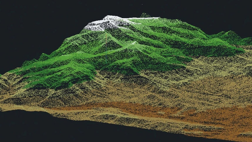 point clouds in AutoCAD Map 3D Toolset