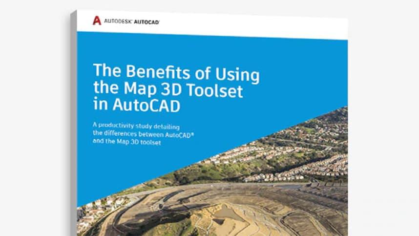 autocad map 3d productivity study