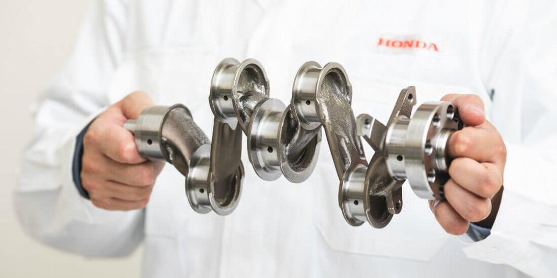 Honda used generative design to create a lighter crankshaft | Autodesk
