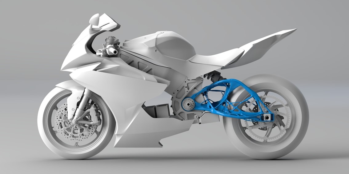 Lightning Motorcycles redesigned a swingarm with generative design | Autodesk