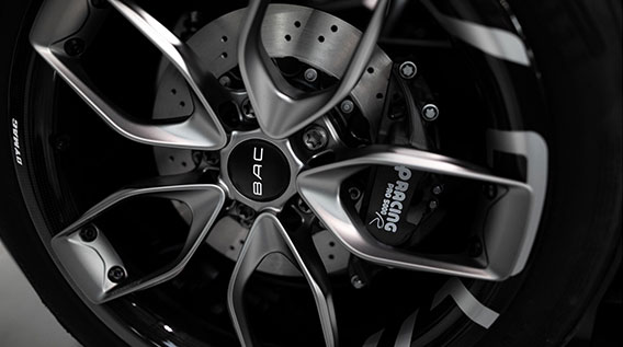The new BAC wheel has been created with generative design.