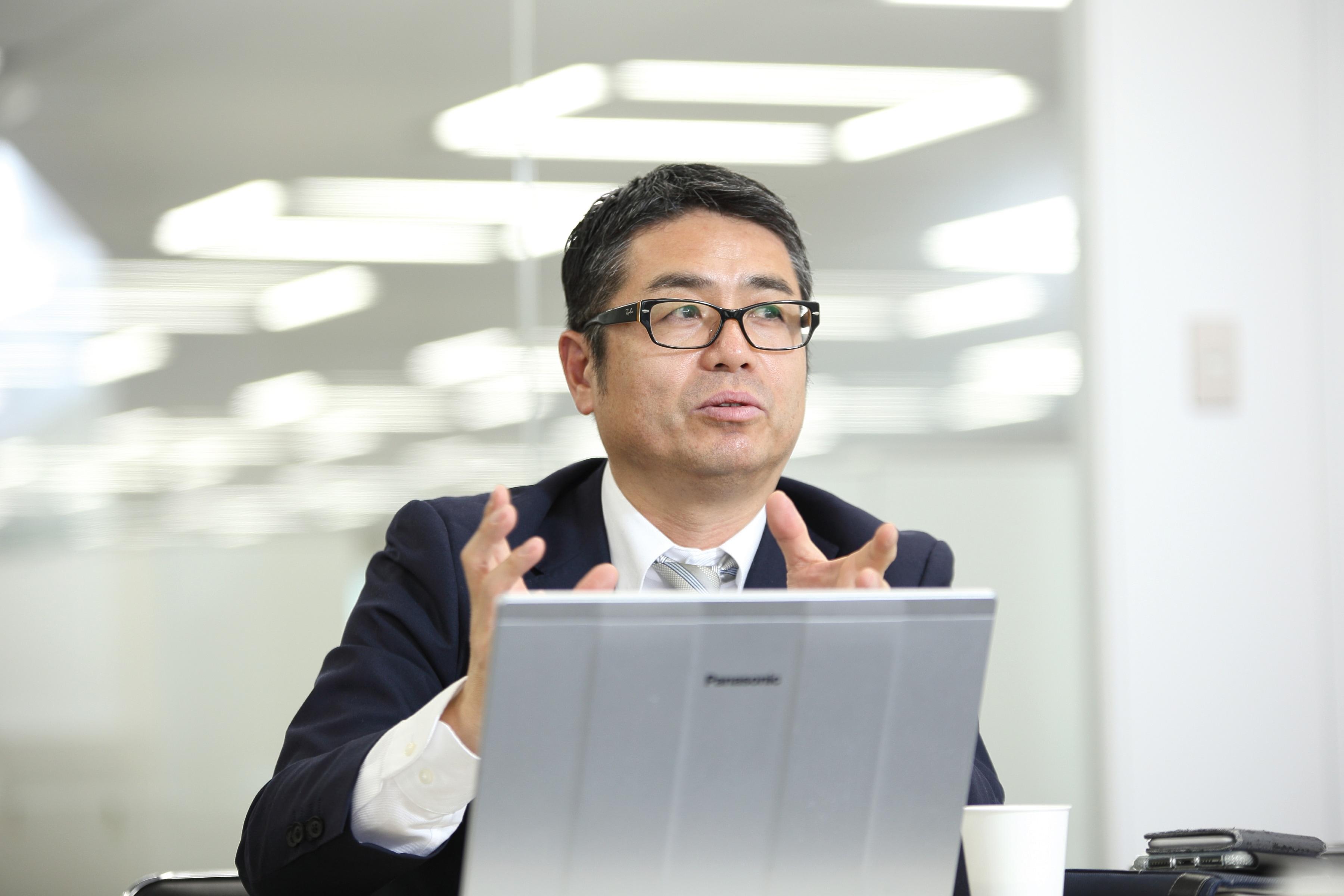 施設技術部 部長 中田 正仁 氏
