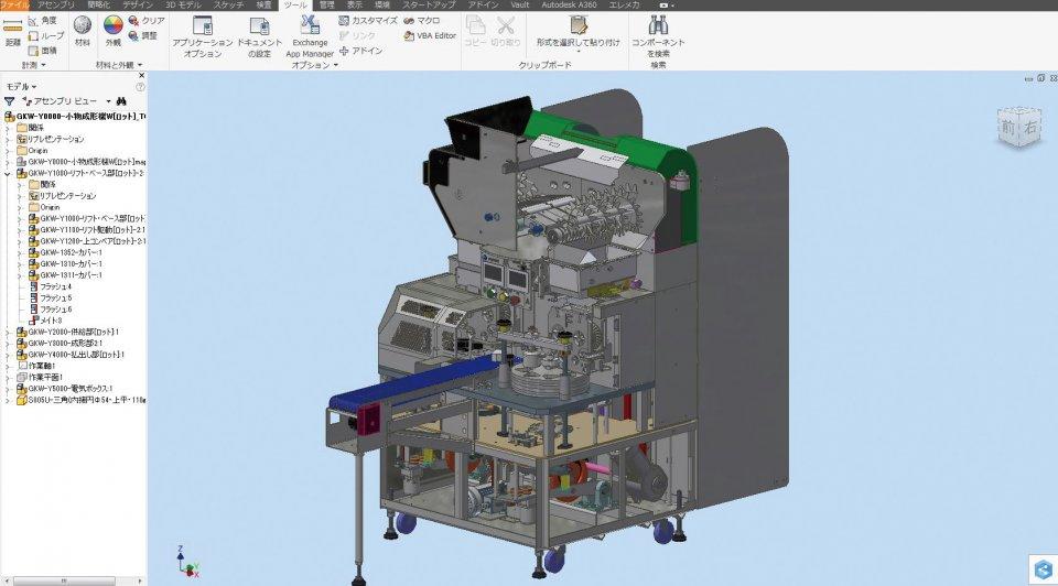 不二精機は 55 人の設計担当者全員が Inventor を標準の設計ツールとして使用。