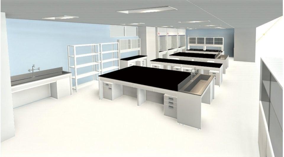 Autodesk 3ds Max を活用した 「A 医薬品開発研究所」の 3D CG データ