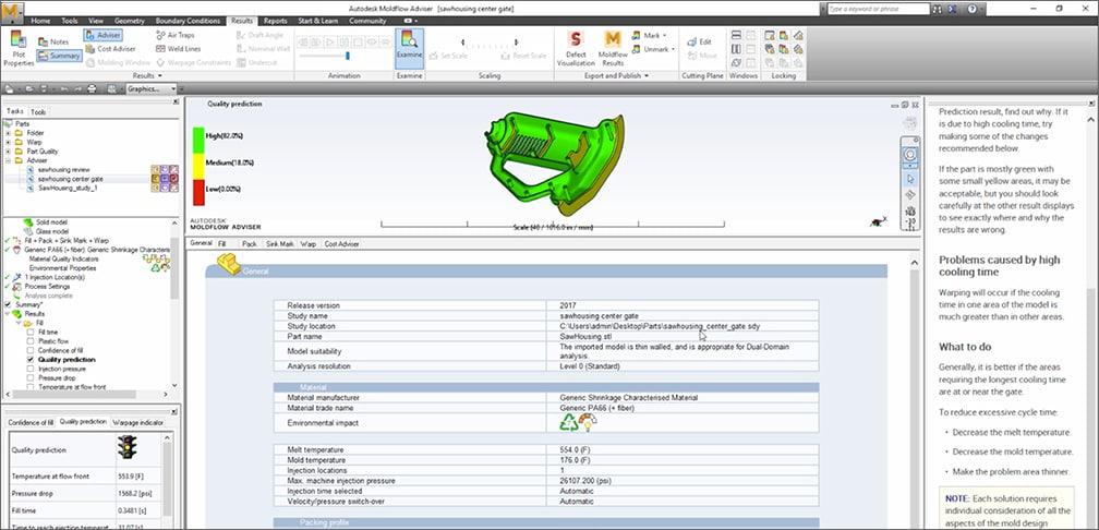 moldflow adviser overview video