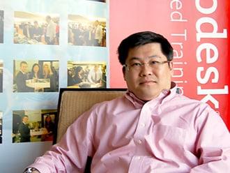 Autodesk ATC亚太区高级经理Vincent Chong