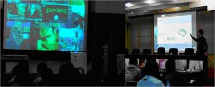 内容1:Autodesk技术在业内的应用;