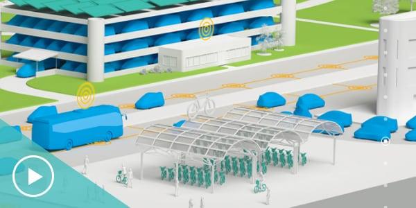 스마트 팩토리 구현으로 총체적 관점에서 자동화, 최적화된 공장의 모습