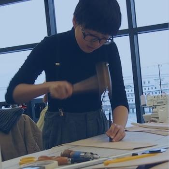 Team at Modbot designing robots