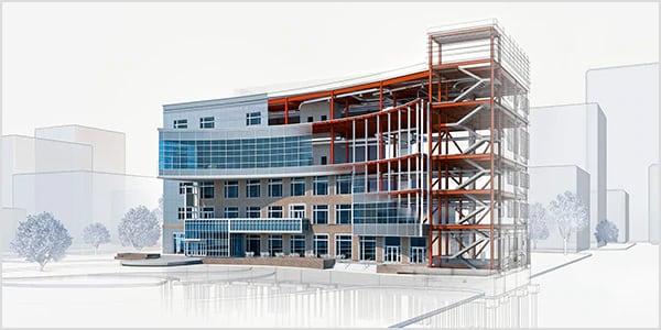 3D デザインソフトの種類6: ビルディングインフォメーションモデリング (BIM)