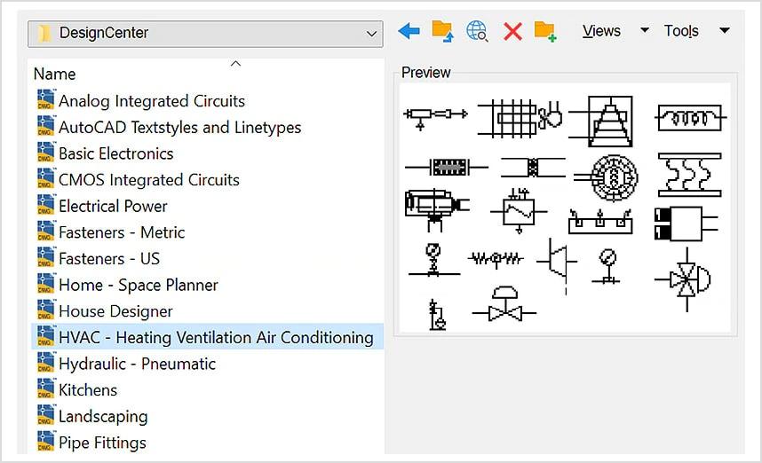 Descargar bloques CAD para AutoCAD