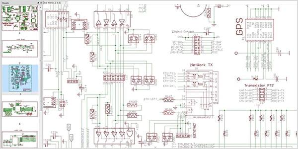 Multi-schematic sheets