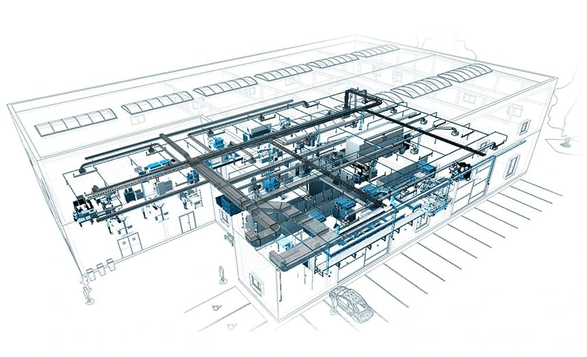 Integrated factory model