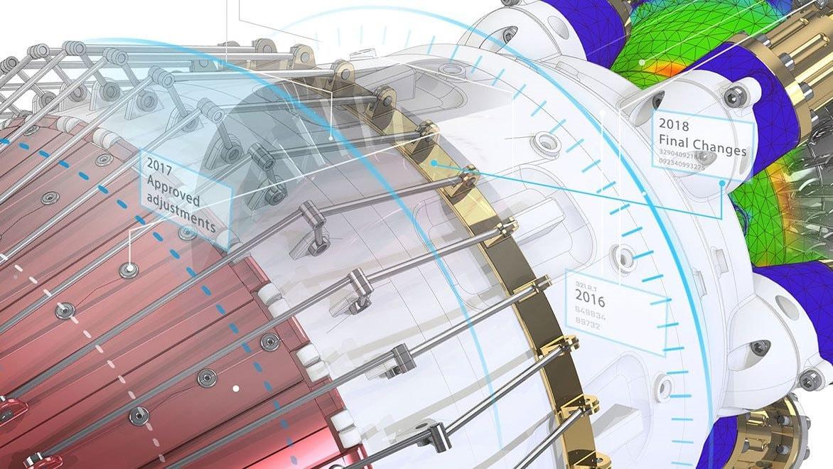 Model of engineering data management