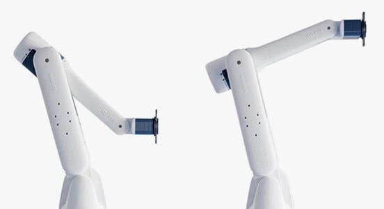 Eva the robotic arm used for manufacturing