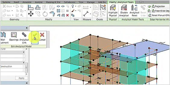 technical drawing in Revit