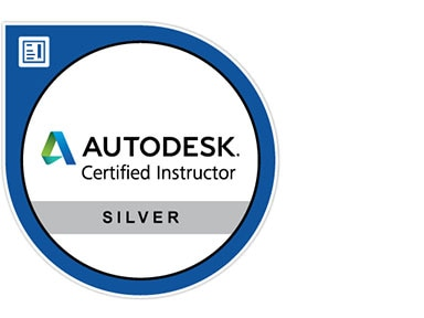 Silver Autodesk Certified Instructor logo