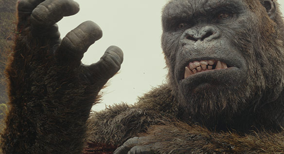 The VFX behind Kong: Skull Island