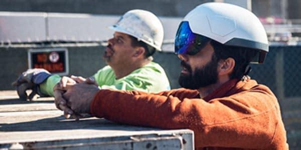 Mortenson Construction: Smart Helmet