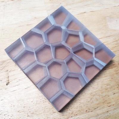 Generative 3D Veronoi Puzzle by Reza Ali